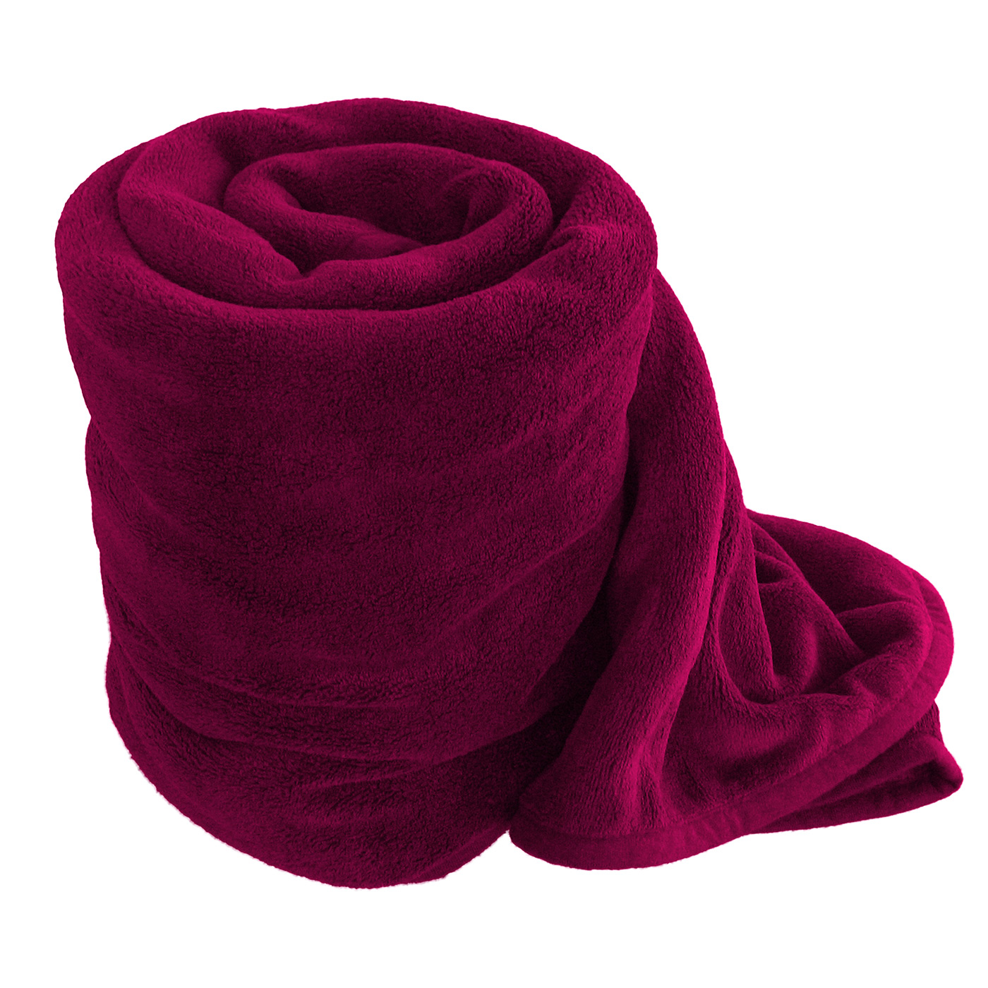% Polyester GSM Fleece Throw Blanket. 12 Pack Wholesale Soft Comfy Fleece Blankets - 60