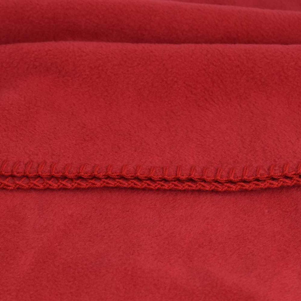 Baby Lap Blanket: Red
