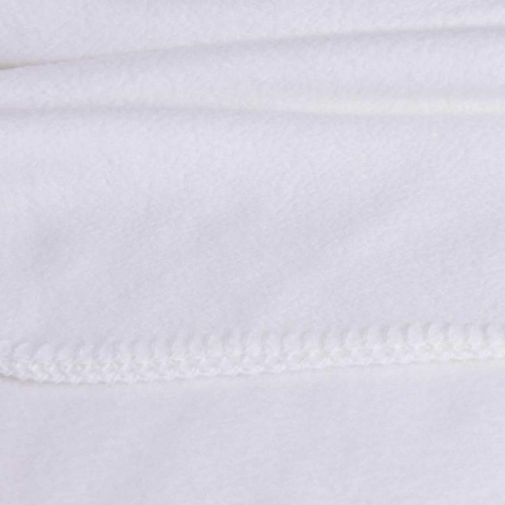 Baby Lap Blanket: White