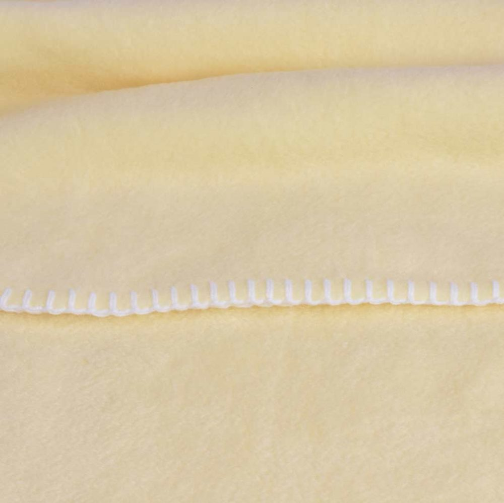 Baby Lap Blanket: Yellow