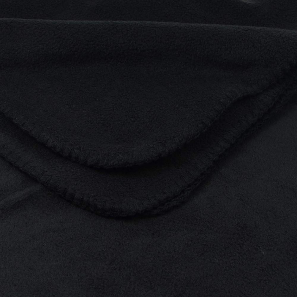 Deluxe Fleece Blanket: Black