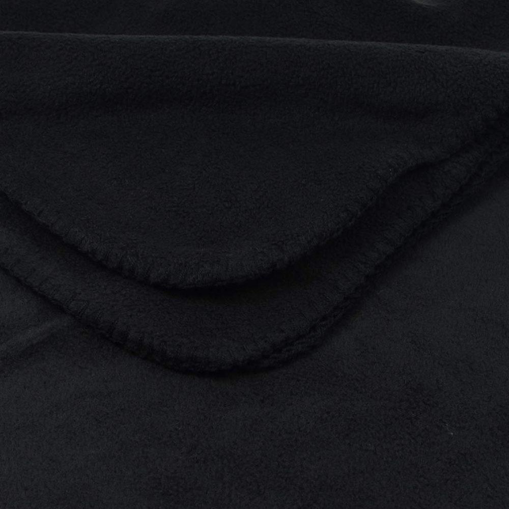 Deluxe Fleece Blanket: Black