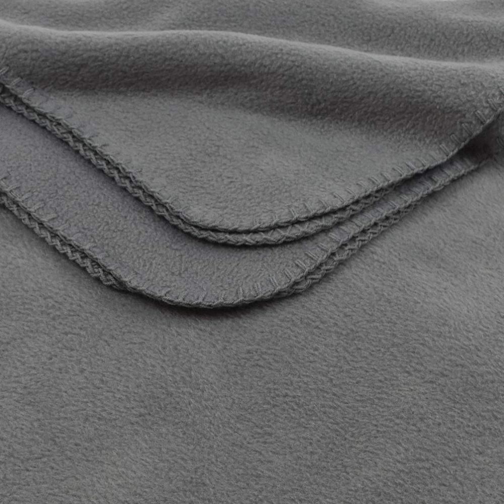 Deluxe Fleece Blanket: Cinder