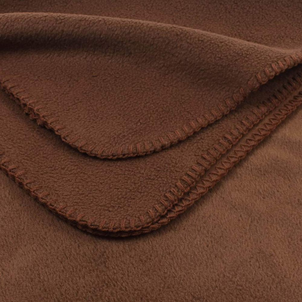 Deluxe Fleece Blanket: Cocoa