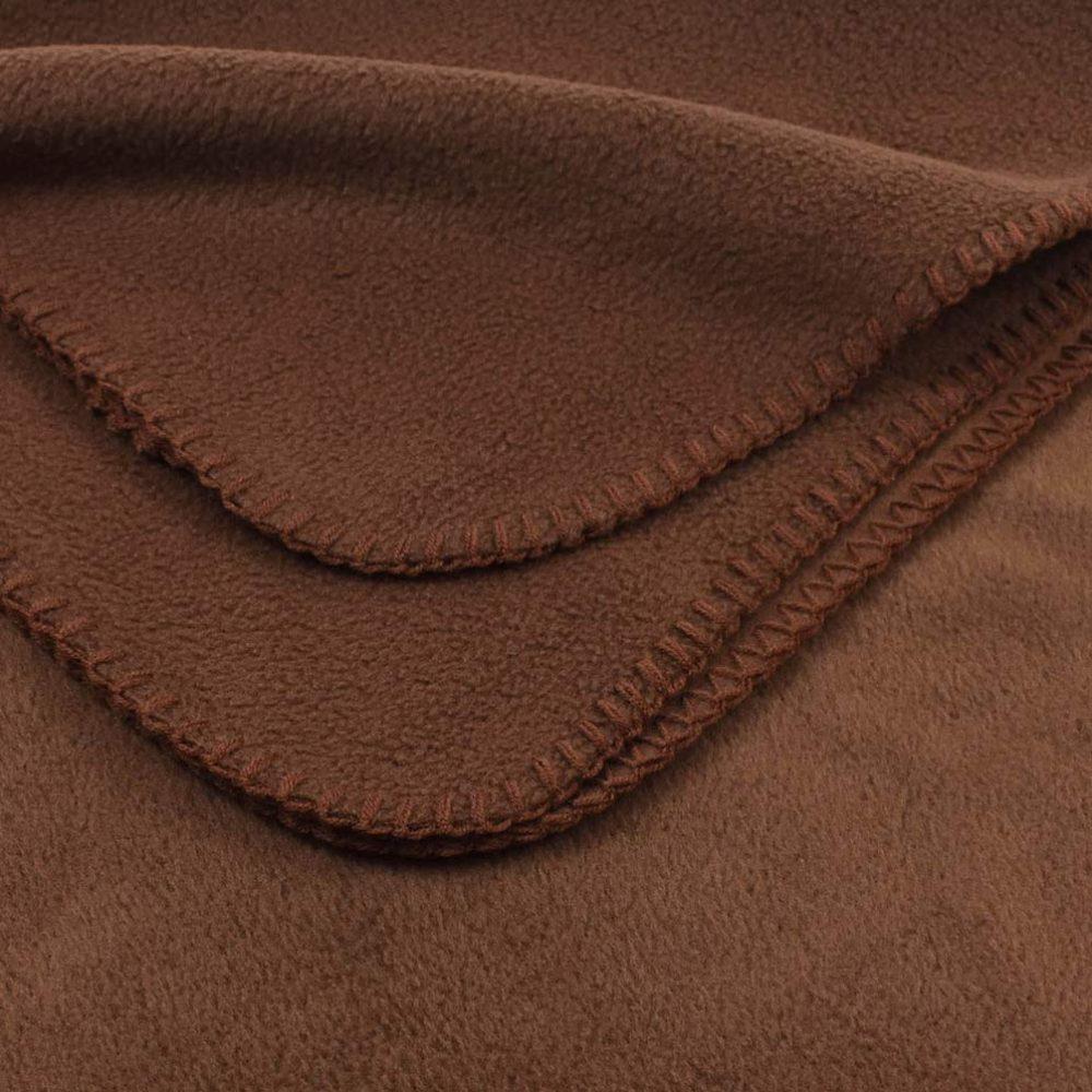 Deluxe Fleece Blanket: Cocoa