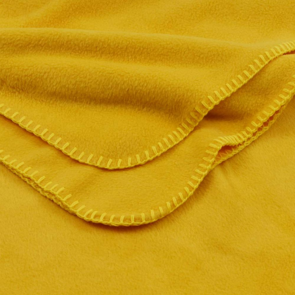 Deluxe Fleece Blanket: Gold