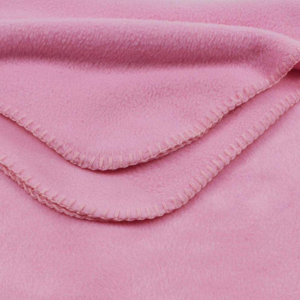 Deluxe Fleece Blanket: Pink