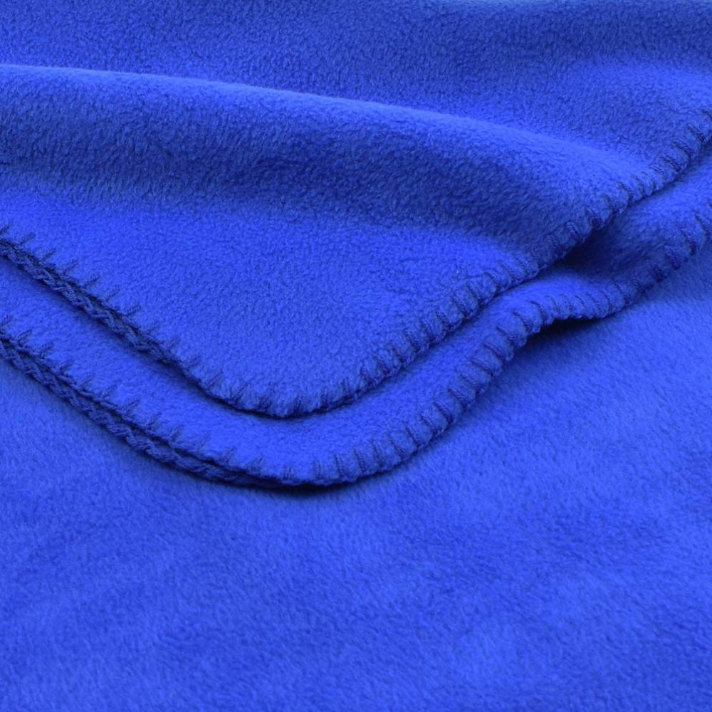 Deluxe Fleece Blanket: Royal