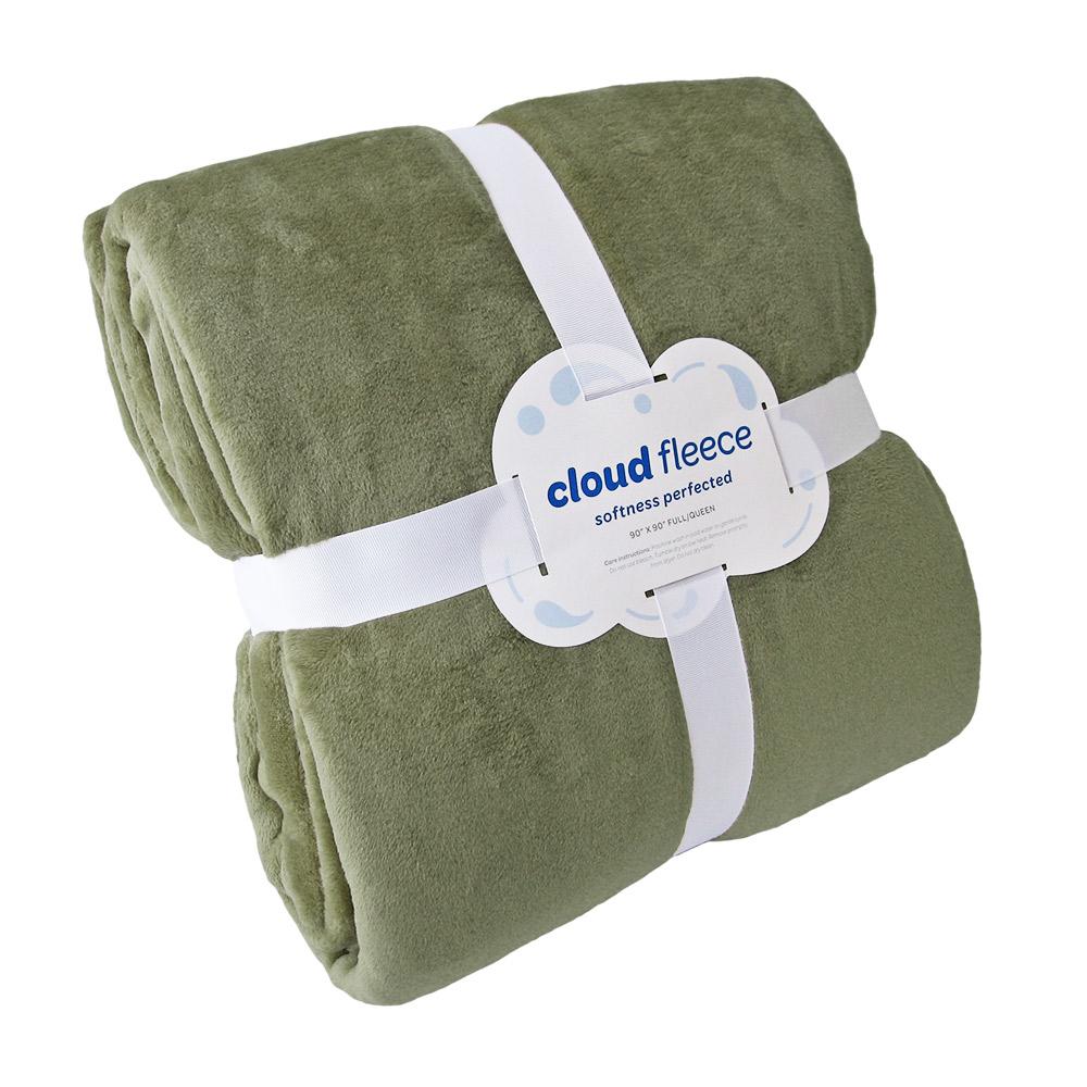 Cloud Queen Blanket | Fleece Blankets | NorthEast Fleece Co
