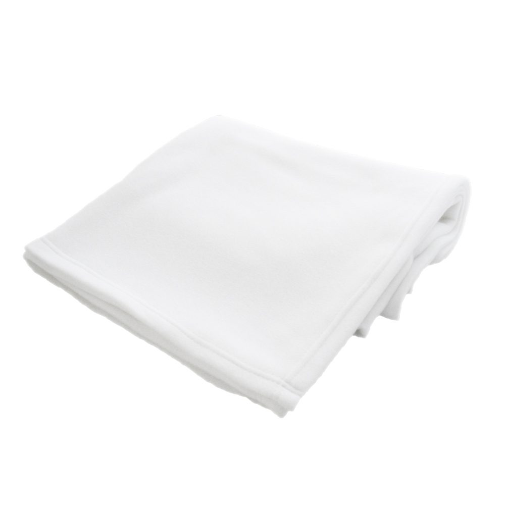 White Sublimation Blanket