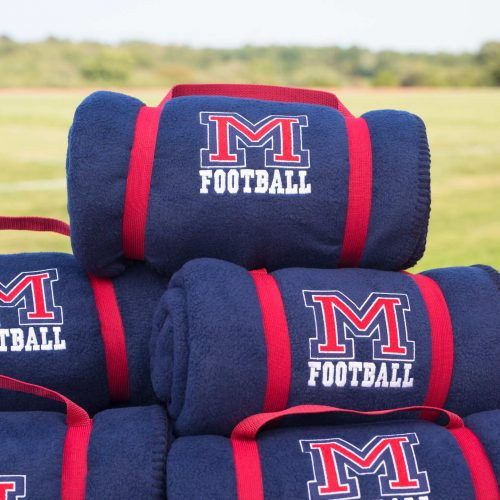 Deluxe Fleece Throw with Embroidery: Schools, Teams and Fundraising