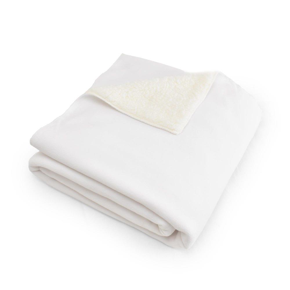 Sublimation blanket: Sherpa