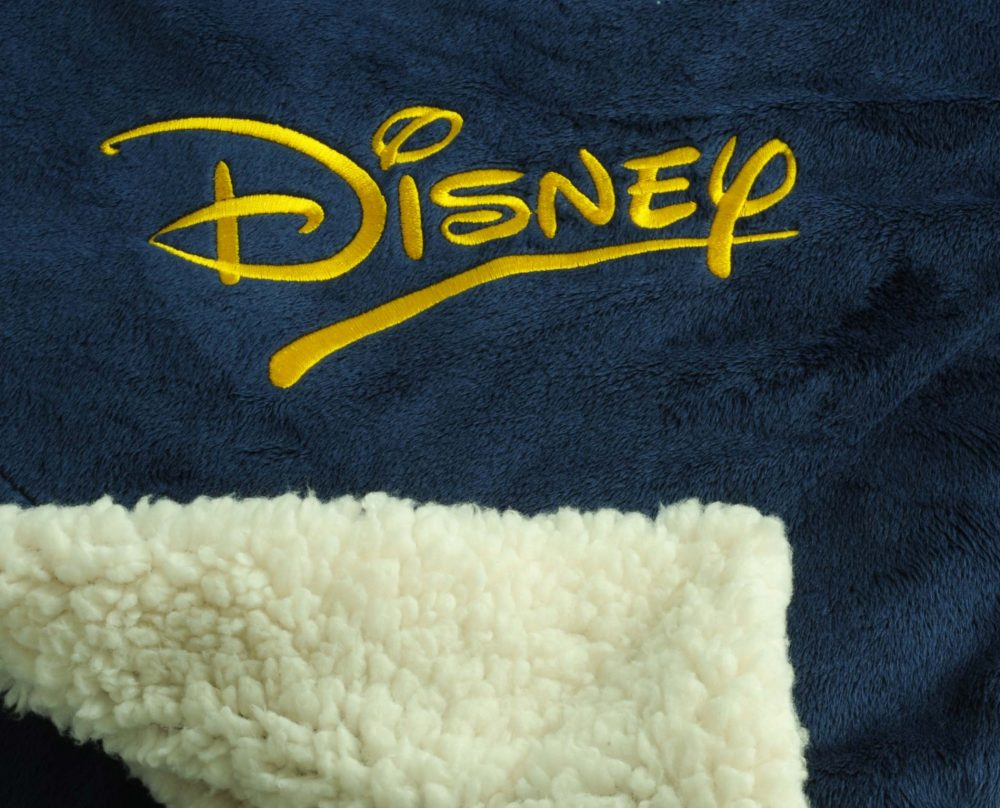 Sherpa Blanket with Embroidery