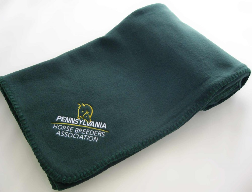 Economy Throw with Embroidery