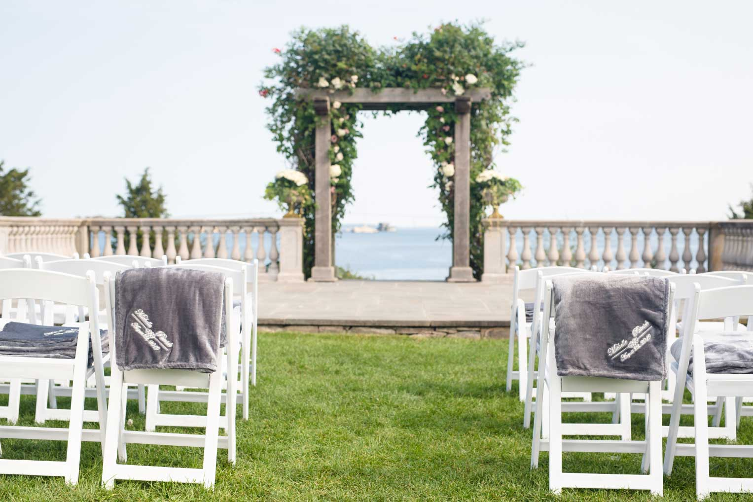 Our beautiful wedding blankets will make a lasting impression!