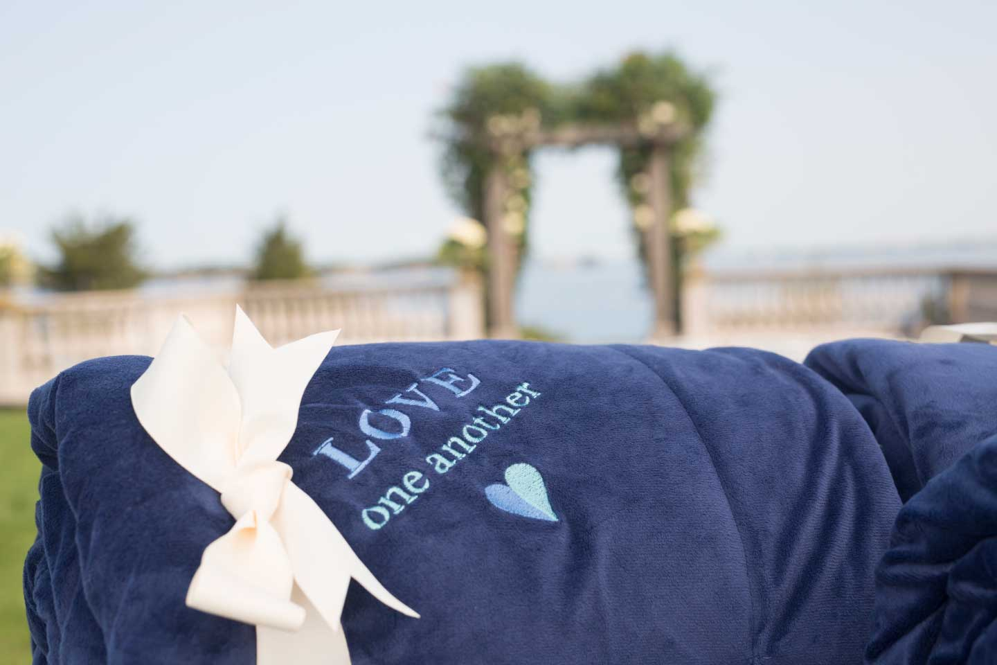 Make your big day a memorable one with our personalized fleece blankets.
