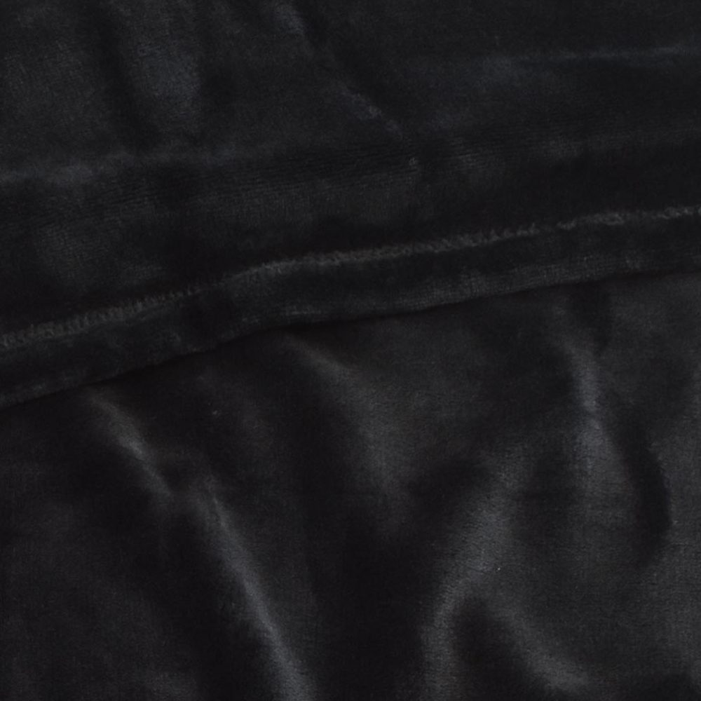 Mink Touch Fleece Blanket: Black