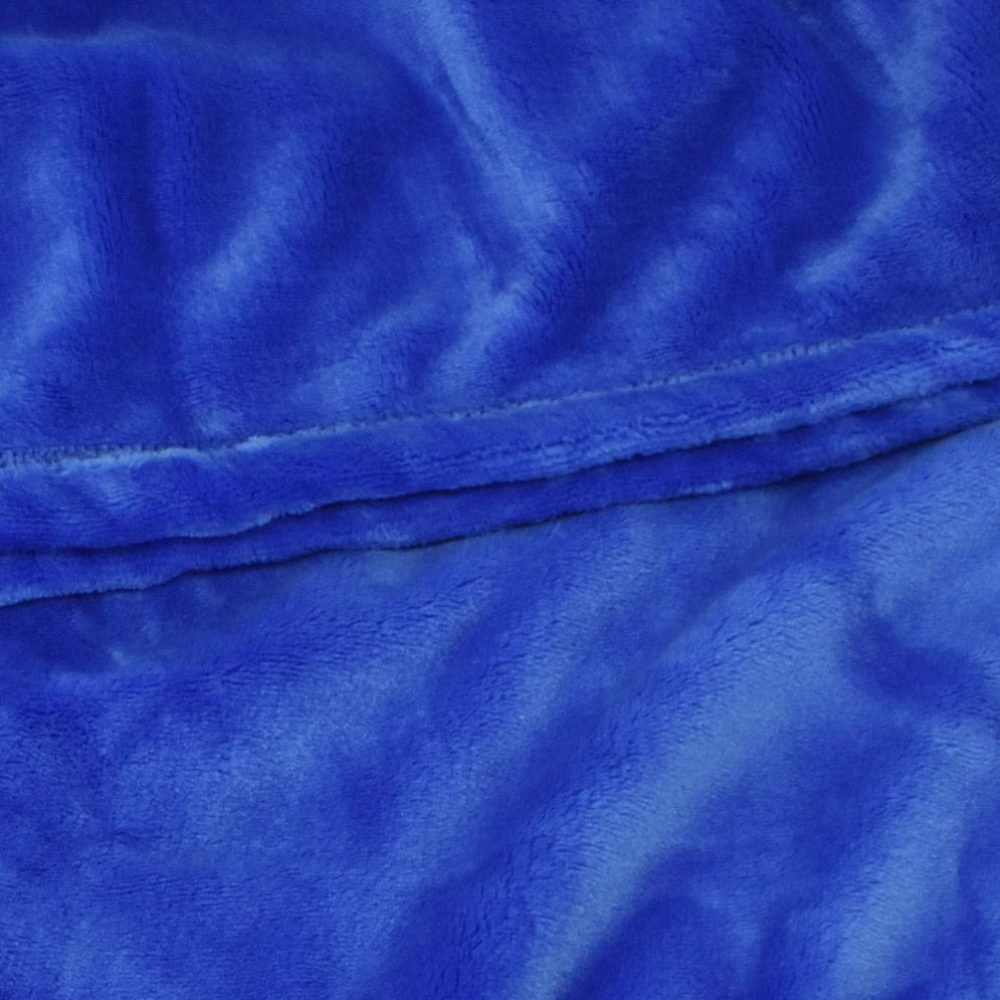Mink Touch Fleece Blanket: Royal
