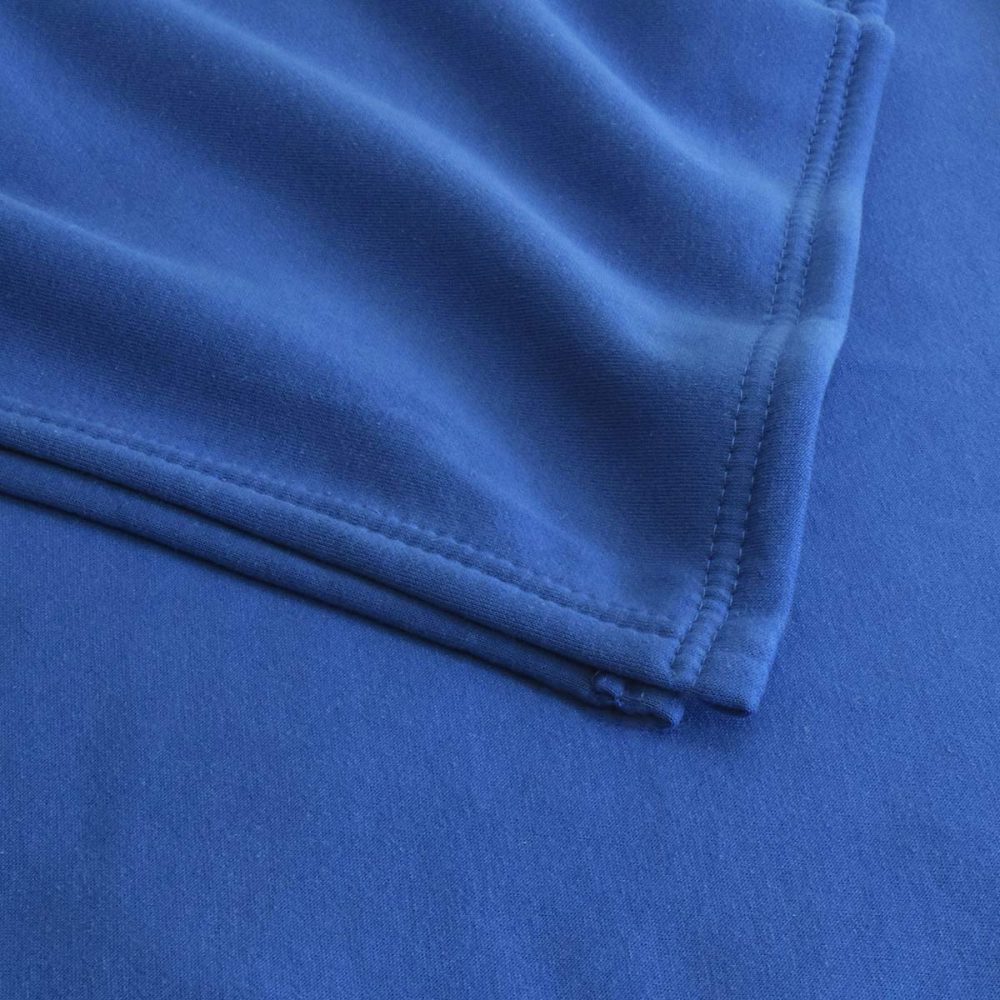 Sweatshirt Fleece Blanket: Royal