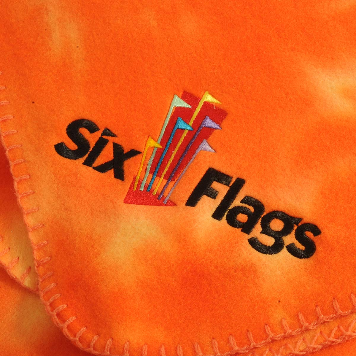 Fleece Customer: Six Flags