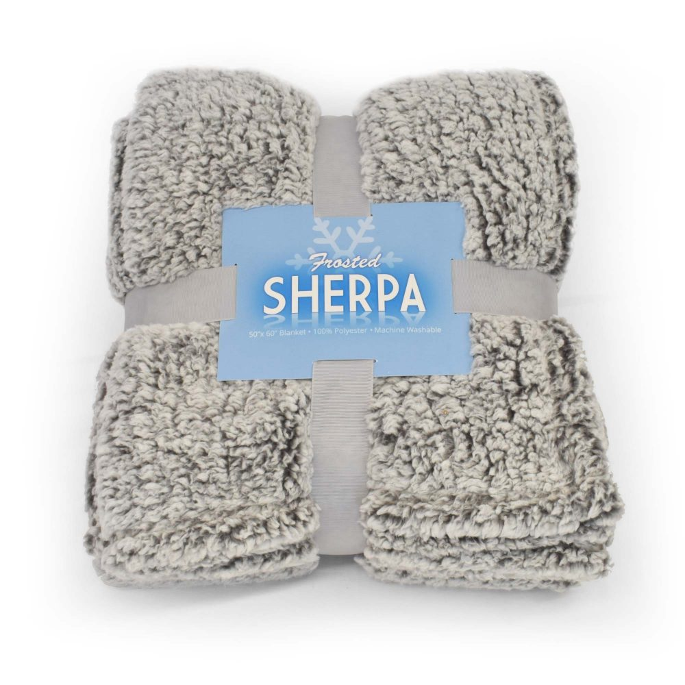 Frosted Sherpa Heather Gray