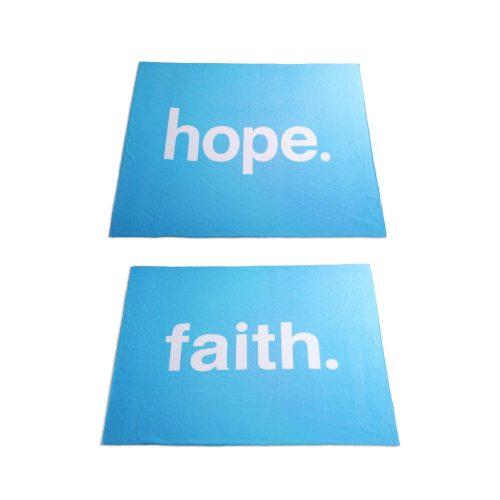 Hope Faith blankets