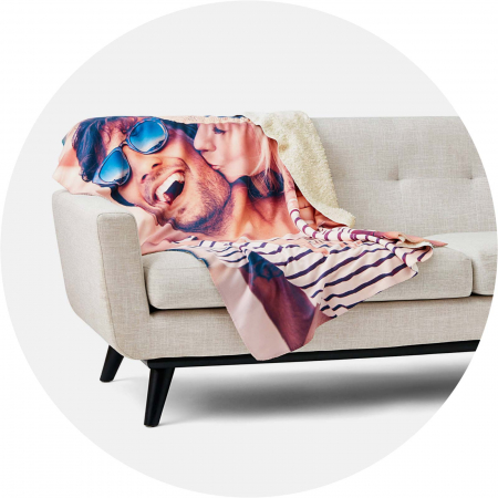 Sublimation blanket example: NorthEast Fleece